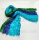 многоцветный шарф 023