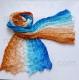 шарф многоцветный 012