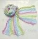 многоцветный шарф 025