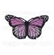 термонаклейка бабочка 03