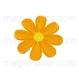 термонаклейка цветок 03