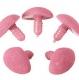 бархатный 10мм*11мм розовый