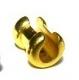 ножка зажимная золото